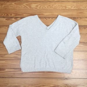 Madewell vneck summer sweater, sz xs